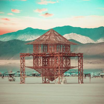 Colombia presente en el Burning Man.